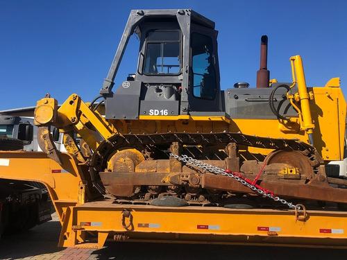Imagem 1 de 13 de Máquina Shantui Sd16 Trator De Esteira 2010=pá Carregadeira