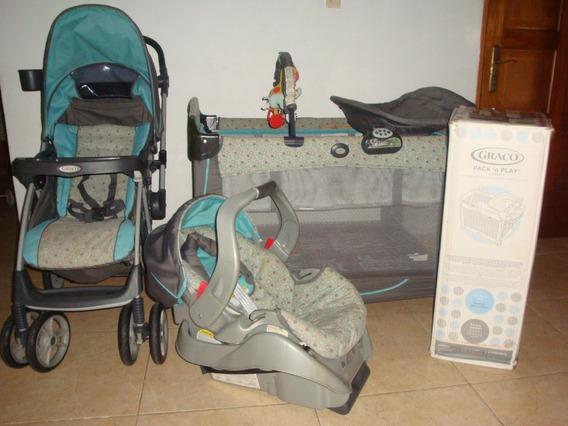 Corral Y Porta Bebé. Graco