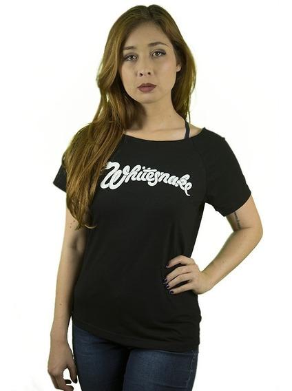 Camiseta Rock Whitesnake Feminina