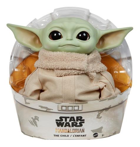 Imagen 1 de 9 de Mattel Star Wars Baby Yoda Peluche