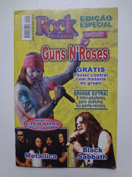 Revista Cifras Rock Extra Edição Especial Guns N