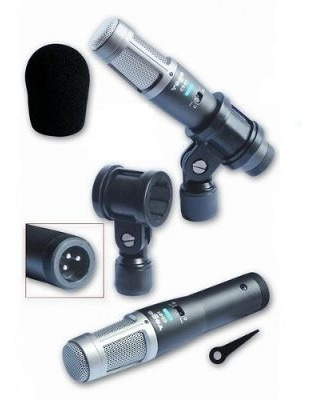 Microfone Para Instrumentos Supercardioide Yoga Ct03