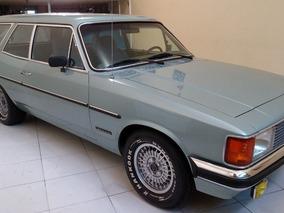 Chevrolet/gm Opala Caravan 250 S 1981 Prata 6cc Placa Preta.