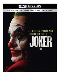 Joker 4k Ultra Hd + Blu-ray Nuevo Original Importado