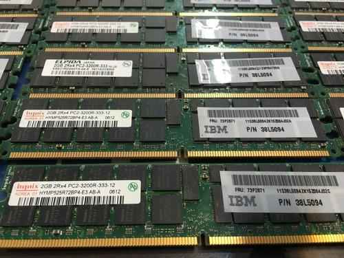 Memoria 2gb Pc2-3200r Ibm System X3800 X3850 X3950 X3950e
