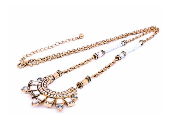 Collar Egipcio De Piedras Salis Style Envío Gratis