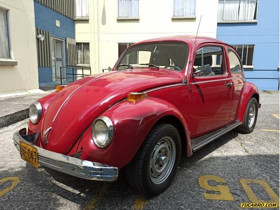 Volkswagen Escarabajo Vw 1600