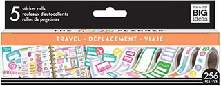 Nuevo El Planificador De Happy Caja De Pegatina Travel