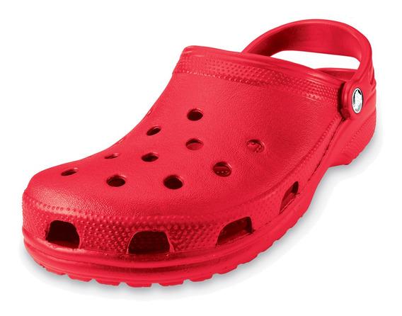 Zueco Crocs Classic Rojo