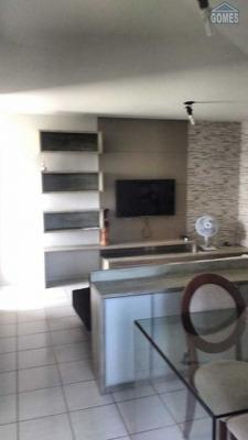 Ótimo Apartamento A 200 Metros Do Praia, Mobiliado - 1277