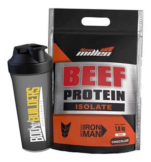 Proteína Isolada Da Carne - 1800g + Brinde - New Millen