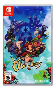 Owlboy Nintendo Switch Juego Nuevo En Karzov