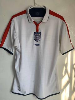 Jersey Polo Selección Inglaterra Umbro Mediana Usada
