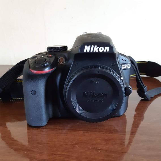 Nikon D3400 + Lente 18-55