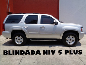 Tahoe Z71 4x4 Blindada Nivel 5 Plus 2011 (nueva)
