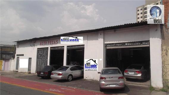 Galpão Comercial À Venda,com Residencia, Rio Pequeno, São Paulo. - Ga0132
