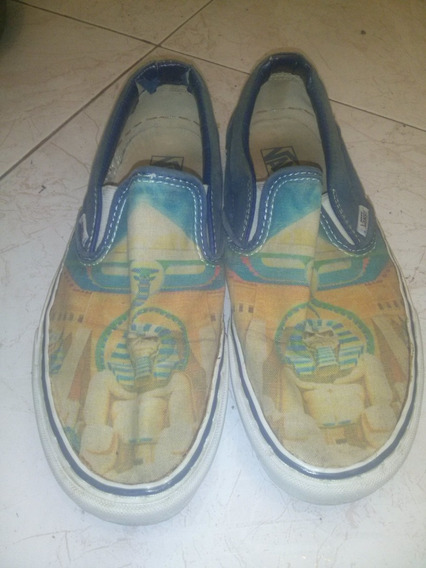 Vans Edicion Limitada Iron Maiden Zapatos Coleccion Rockeros