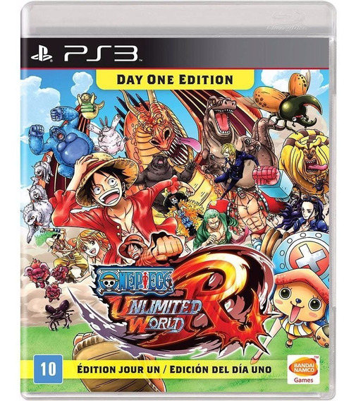 One Piece Unlimited World Red Ps3 Midia Fisica Lacrado