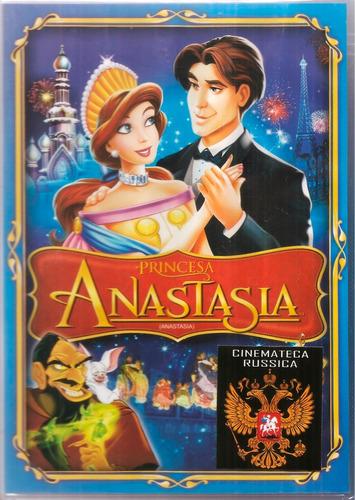 Dvd Anastasia - Desenho Animado - Princesa Russa  1977   +
