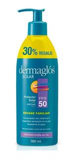 Dermaglós Protector Solar Fps 50 Emulsión Pieles Sensibles 380ml