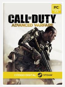 Cod Advanced Warfare Pc Steam Key Código 15 Dígitos Envio Já