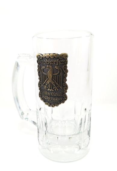 Chopp Cerveza Crisa Trigger 350cm3 Placa Fundicion