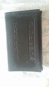 Porta Documento Manual Subaru Impreza Sti Hawk