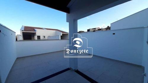 Cobertura À Venda, 90 M² Por R$ 310.000,00 - Vila Pires - Santo André/sp - Co11339