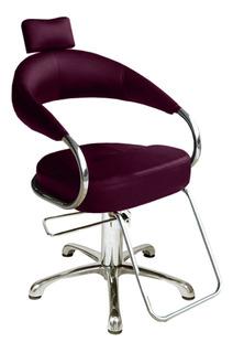 Poltrona Cadeira Hidráulica Futurama Preto Ou Café Factor