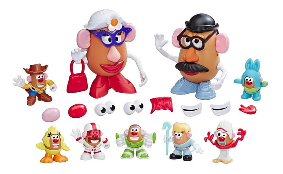 Super Pack Mr. Potato Head Quarto Do Andy E3066 - Hasbro