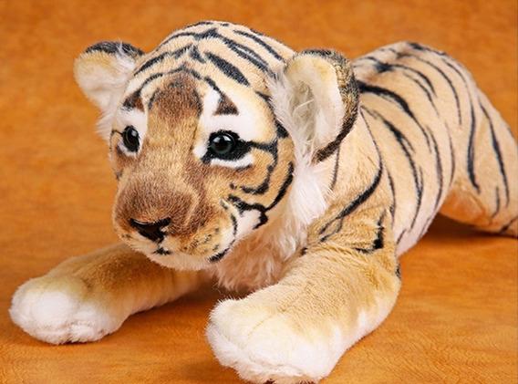 Tigre De Pelúcia 45 Cm Pronta Entrega