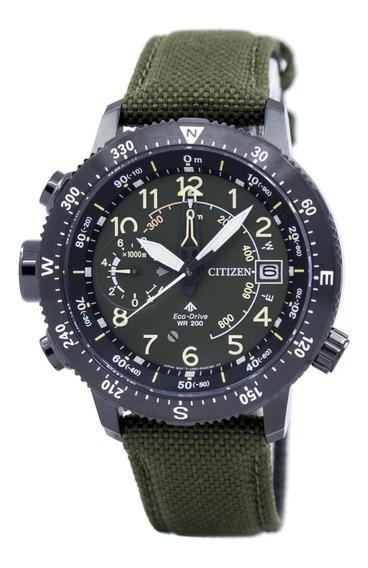 Relógio Citizen Masculino Altichron Tz31070g Bn4045-12x Driv