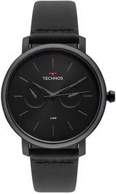 Relógio Technos Masculino Classic Executive Preto 6p25bu/4p