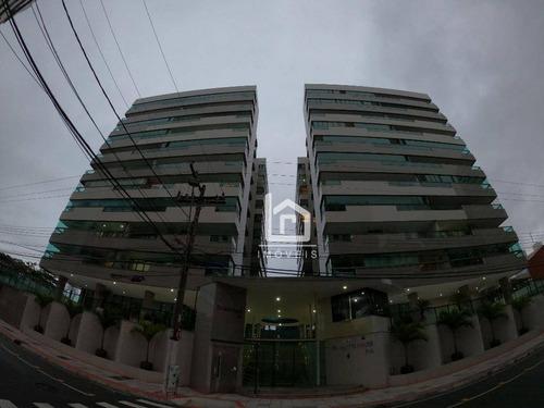 Apartamento Com 4 Dormitórios À Venda, 190 M² Por R$ 997.000,00 - Itapuã - Vila Velha/es - Ap0172