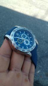 Relógio Nautica Masculino Borracha Azul - A19602g