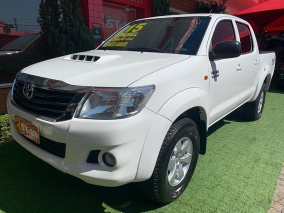Hilux Cd 4x4 Sr 2015 Starveiculos