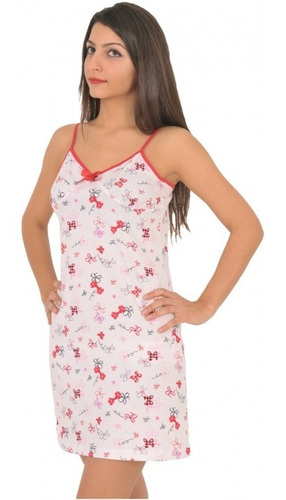 Bata Estampada Flores Pijama Mujer