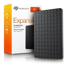 Hd Externo 1 Terabyte Seagate Preto Expansión 2.5