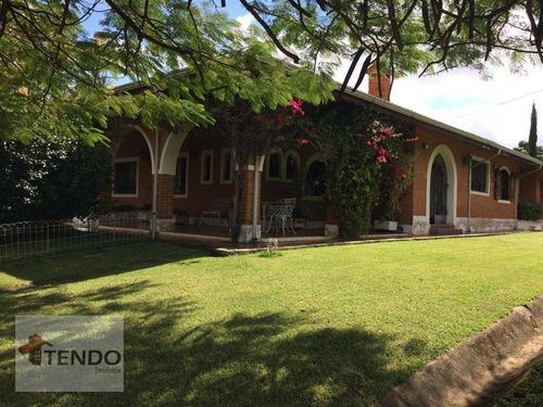 Chácara 510 M² - Venda - 5 Dormitórios - 2 Suítes - Lagos De Shanadu - Indaiatuba/sp - Ch0062