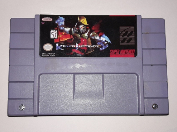 Killer Instinct Original Relabel Para Super Nintendo