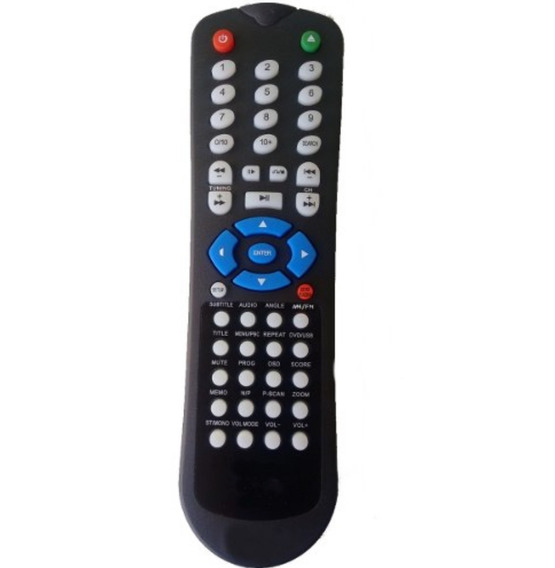 Controle Remoto Home Theater Lenoxx Rc-204/rc-214a/ht-7000