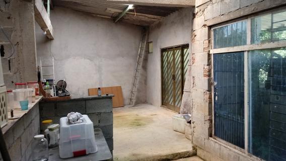 Vendo Chaxara Em Salesopolis, 9.750m Casa Probta Falta Acaba