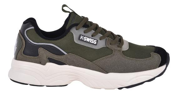 Tenis Textil K-swiss Hombre Verde 0f413331