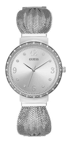 Reloj Para Dama Guess Chiffon W1083l1 Plata