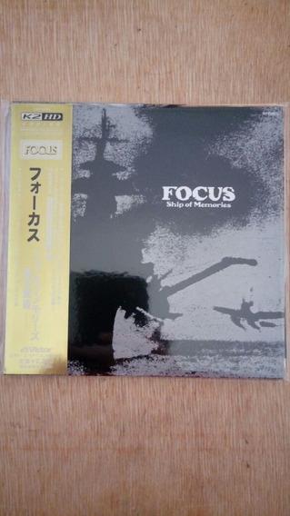Cd Focus - Ship Of Memories ( Mini- Lp Japonês) (semi-nv)
