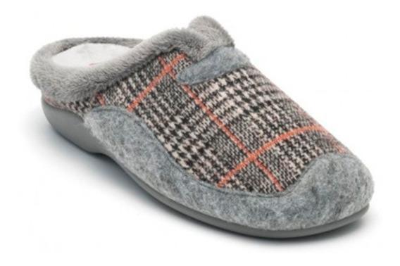 Onena Mujer Zapato De Descanso Textil Peluche 1021