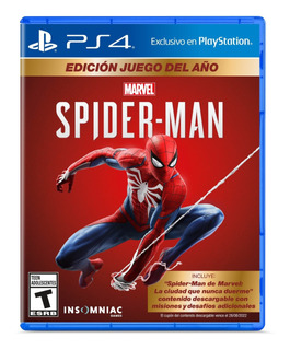 Spiderman Game Of The Year Edition Ps4 Juego Original Fisico