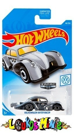Hot Wheels Vw Fusca Kafer Racer Moon Mooneyes Zamac Walmart