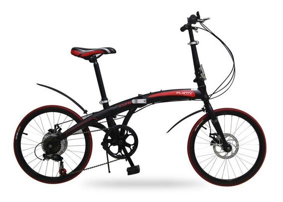 Bicicleta Plegable Plenty 20 7 Velocidades Shimano Ligera M