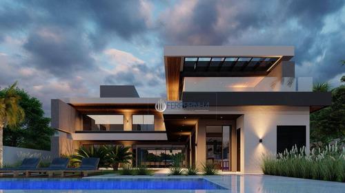 Imagem 1 de 4 de Casa À Venda, 700 M² Por R$ 8.000.000,00 - Condomínio Chácara Serimbura - São José Dos Campos/sp - Ca2480